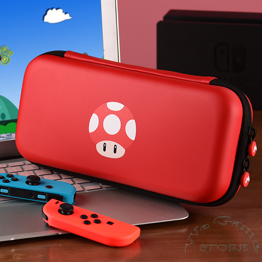 Red Big Portable Bags for Nintendo Nintend Switch Cover Nintendoswitch Carrying Case Nitendo Storage Box for NS Game Accessories