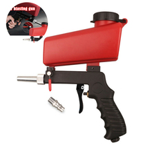 Spray-Gun-Set Guns Air-Blasting-Machine Derusting Gravity Pneumatic Small Portable 90psi
