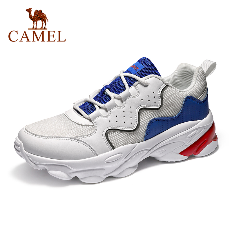 CAMEL Running Shoes Women Men Sneakers Breathable Lightweight Fashion Sports Jogging Gym Anti-Slip