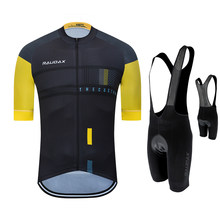 Men Cycling Jersey 2021 Pro Team Raudax Summer Cycling Clothing Quick Drying Set Racing Sport Mtb Bicycle Jersey Bike Uniform