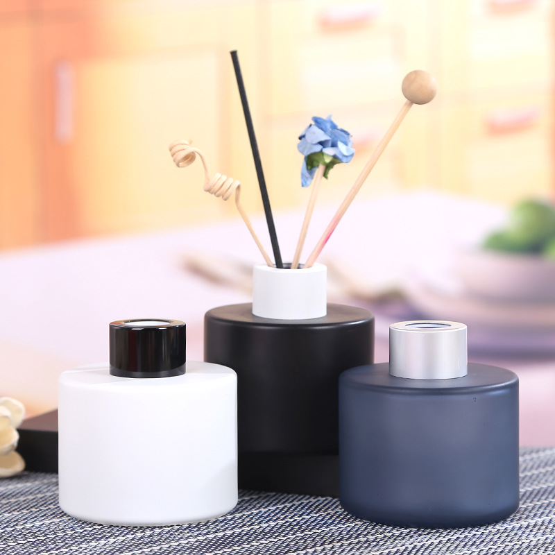 5pcs 100ml Column Aromatherapy Glass Bottle Rattan Fragrance Diffuser Bottle Scent Volatilization Glass Container For Home Deco Unequal In Performance