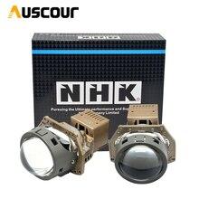 40W 3,0 inch BI LED projektor objektiv für NHK auto scheinwerfer universal LED Headllamp Hohe Abblendlicht objektiv auto styling Auto zubehör