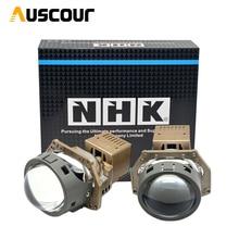 Lentes de proyector LED BI de 40W y 3,0 pulgadas para faro delantero de coche NHK, faros LED universales, lentes de haz Alto y Bajo, accesorios de estilismo para coche