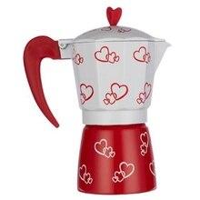 Coffee Maker Italian Mocha Coffee Pot Aluminum Mocha Espresso Percolator Pot 300Ml Coffee Kettle Barista Tools 300Mlstovetop Esp mac mocha