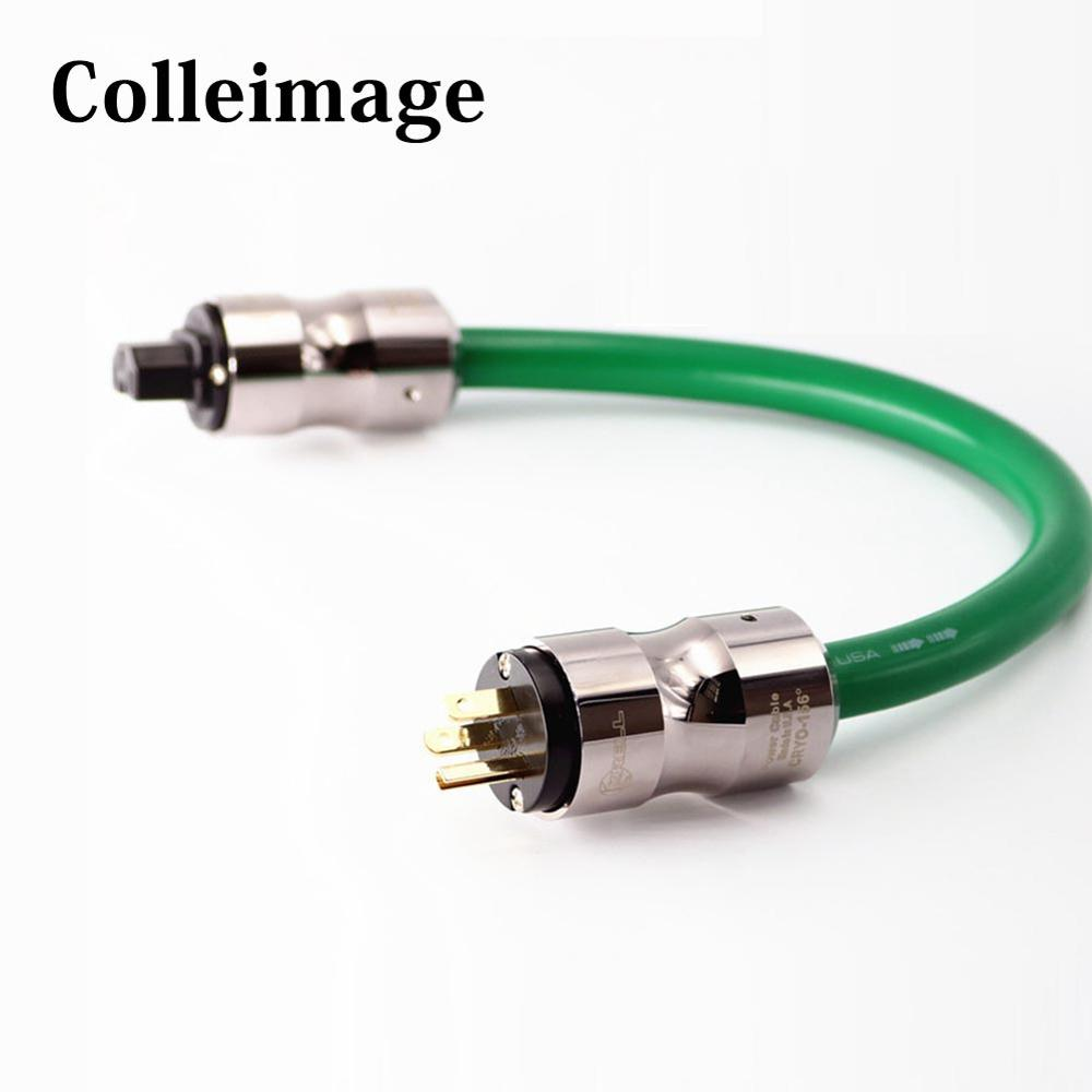Colleimage Hifi <font><b>Mcintosh</b></font> <font><b>2328</b></font> Power Cord with EU Plug AC Cable Line with EU / US plug and Socket connector AC C image