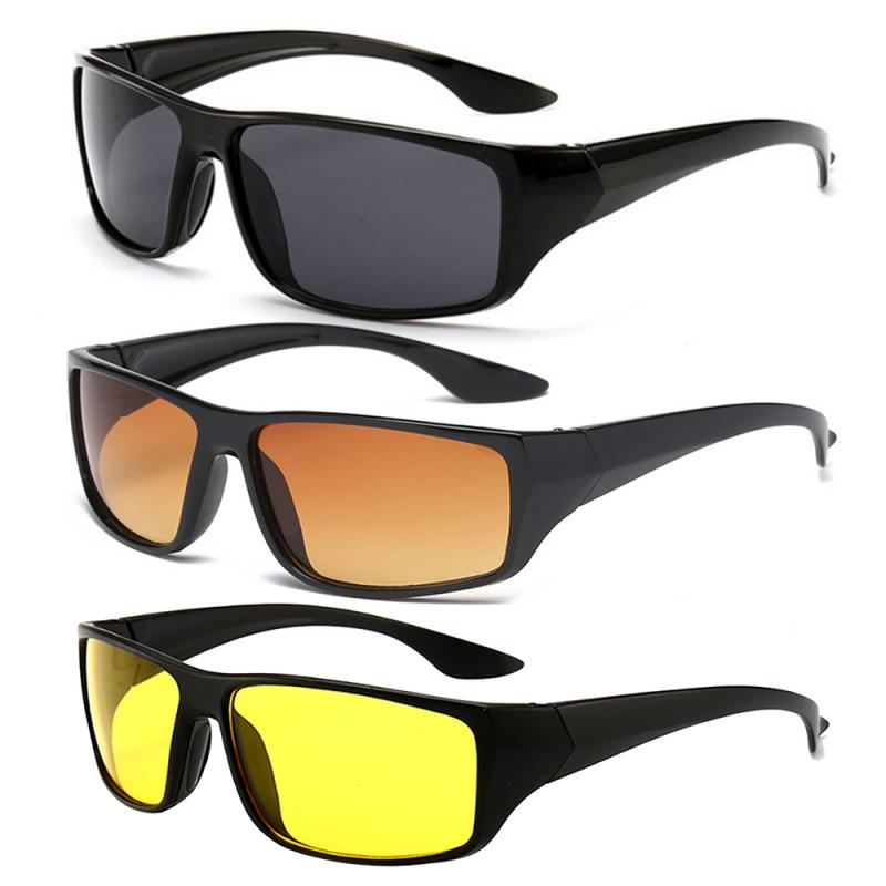Motorcycle Goggles Unisex Car Motorcycle Sunglasses Night Driving Riding Glasses HD Field Of View Sunglasses UV Protection
