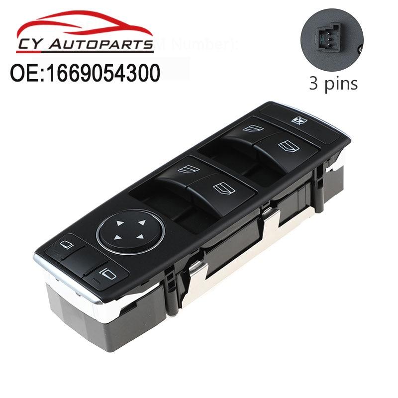 1669054300 yeni pencere kontrol güç pencere anahtarı mercedes-benz X156 W176 W246 X166 GLS GLA sınıf A M sınıf A1669054300