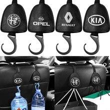 Gancho para el reposacabezas del asiento trasero del coche, accesorio para Alfa Romeo 159 147 156 Giulietta 147 159 MiTo, 1 Uds.