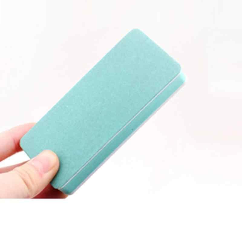 ขายร้อน 1pcs Professional เล็บที่มีสีสันแฟ้มบัฟเฟอร์ขัดขัดเล็บฟองน้ำ Setback เครื่องมือเล็บ
