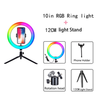 RGB and 12cm Tribod