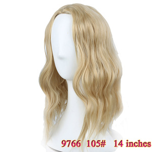 Image 5 - MUMUPI קצר קרלי מלא פאות wih פוני רך גלי שיער סינטטי טבעי שחור פאת שיער נשי פאת שיער יומי פאות