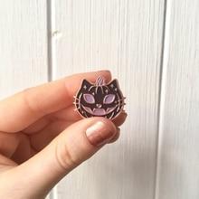Креативные поп-Эмаль Булавка нагрудные значки брошь забавные модные ювелирные изделия