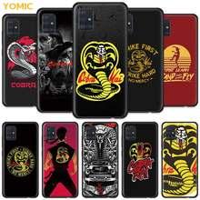 Cobra Kai Temporada 2 Case for Samsung Galaxy A51 5G A50 A71 A31 A21s A20e A41 A70 A10 A30 A12 A11 A40 A20s TPU Preto Tampa