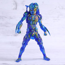 NECA Predator Predator Action Figure Toy Collectible Modelo Fugitivo de Visão Térmica(China)