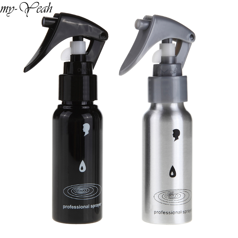 60ml Plastic Pro Salon Hair Cutting Sprayer Empty Water Refillable Spray Bottles Barber Hairdressing Hairstyling Tools
