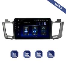 Z systemem Android 10 radia samochodowego 1 Din nawigacja GPS dla Toyota RAV4 2013 #8211 2018 PX6 wbudowany DSP ekran IPS 4Gb + 64Gb 6-Core RDS WIFI Bluetooth tanie tanio dasaita Jeden Din 10 2 4*50W Other System operacyjny Android 10 0 Jpeg gps Radio GPS for Toyota RAV4 2014 - 2018 1024*600