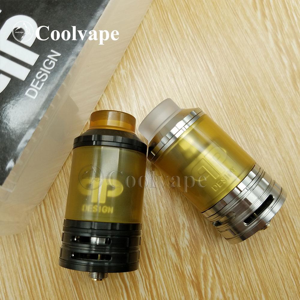 Coolvape QP Designs Fatality RTA Replaceable Tank 28mm Atomizers Top Adjustable Quad Airflow Top Fill Vape Vs Fatality M25 RTA