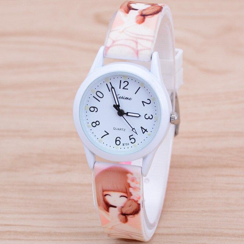 Luminous Children Watch For Girl High Quality  Silicone Watch Boy Quartz Pink Blue Fashion Simple Watches Children Kid