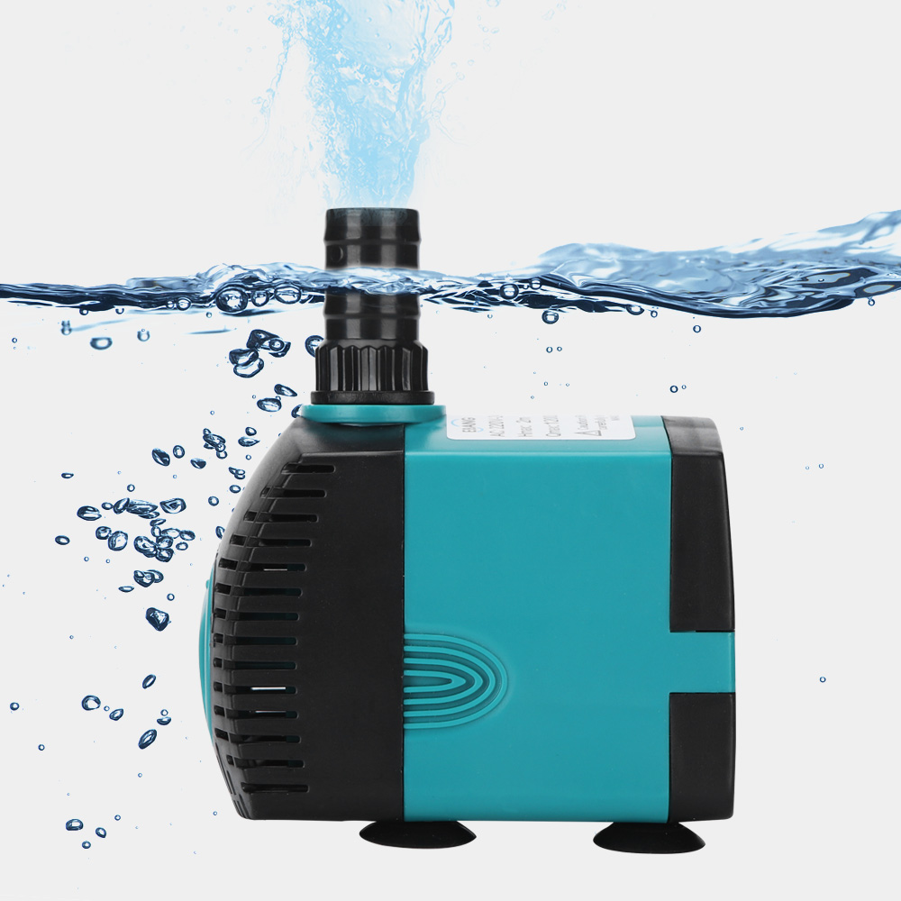 3/6/10/15/25W Ultra-Quiet Submersible Water Fountain Pump Filter Fish Pond Aquarium Water Pump Tank Fountain