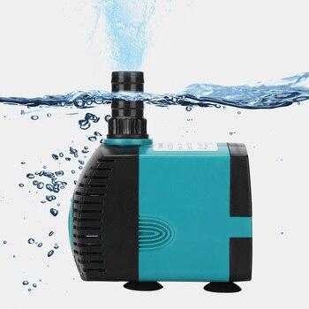 3/6/10/15/25W Ultra-Quiet Submersible Water Fountain Pump Filter Fish Pond Aquarium Water Pump Tank Fountain