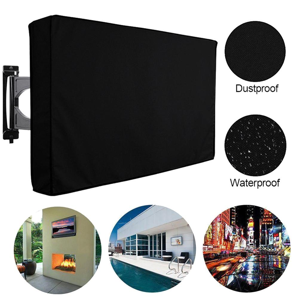 Nice <font><b>Outdoor</b></font> Oxford Cloth Waterproof <font><b>TV</b></font> <font><b>Cover</b></font> Dust-proof Television LED LCD <font><b>TV</b></font> S Dust <font><b>Covers</b></font> Air Conditional <font><b>Covers</b></font> <font><b>TV</b></font> <font><b>Covers</b></font> image