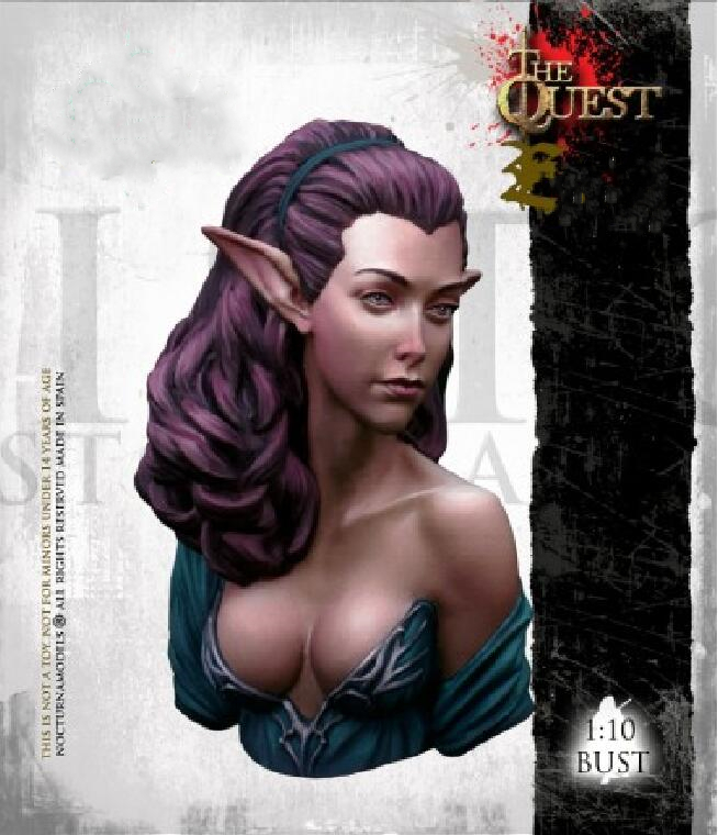1/10 Resin Bust Model Kit