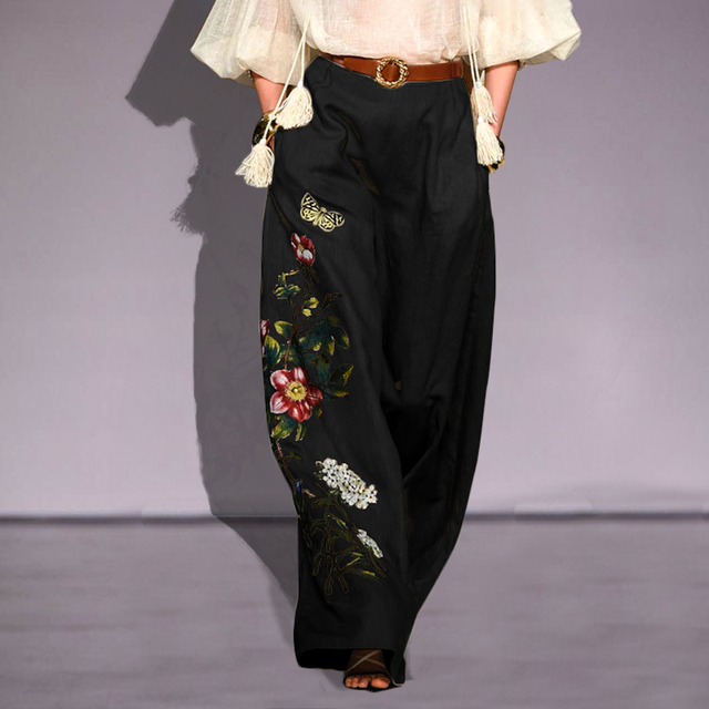 Embroidery Pants  2