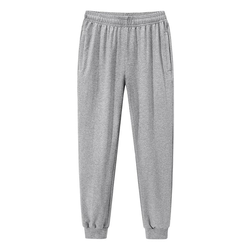 Men running jogging pants cotton comfortable breathable sports fitness training pants casual trousers elastic waist sweatpants