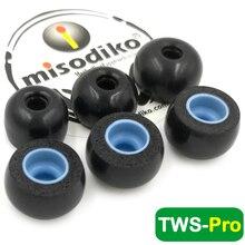 Misodiko TWS פרו זיכרון קצף אוזן ניצני טיפים עבור Ture אלחוטי אוזניות Mifo O5/Hifiman TWS600/ אנקר Soundcore חירות אוויר 2 פרו