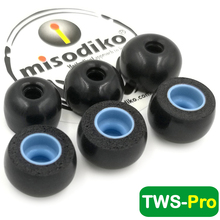 Наушники misodiko TWS Pro с пенным наполнителем с эффектом памяти, насадки для наушников true Wireless Mifo O5/ Hifiman TWS600/ Anker Soundcore Liberty Air 2 Pro