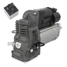 Ap02 para mercedes-benz m gl classe w164 x164 bomba de compressor de suspensão a ar + relé novo