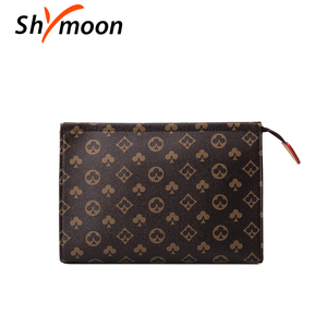 2020 new luxury brand designer Unisex Day Clutches bags High quality long wallets for men handbags Business Male Clutch Bags