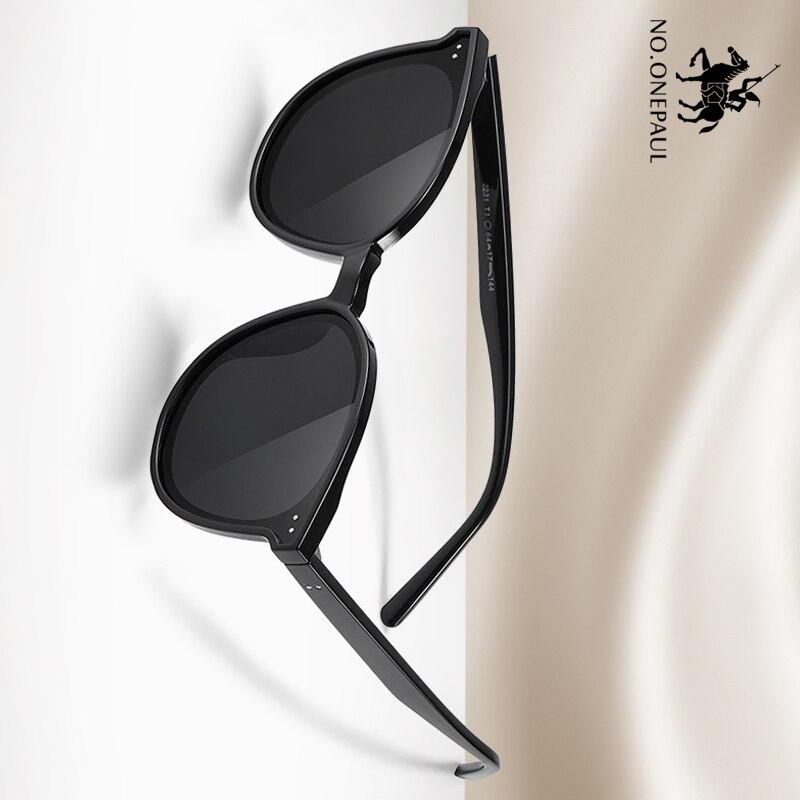 NO.ONEPAUL Oculos Male Eyewear Accessories For Men  Aluminum Magnesium Men's Sunglasses Men Polarized Coating Mirror Glasses