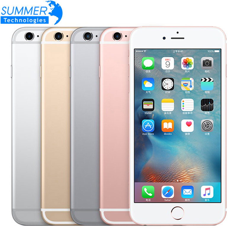 Apple iPhone 6S 16gb 2gb LTE Fingerprint Recognition Used Dual-Core 6s/6s-Plus Unlocked Original title=