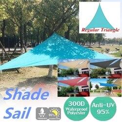 300D 4x4x4 5x5x5 6x6 Blue Sky Poliestere Oxford Ombrellone All'aperto convenzionale Trilaterale Sole Protezione UV di Campeggio Esterna