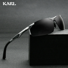 Driving Polarized Mens  Sunglasses Aluminum Magnesium Alloy Frame Driver Sun Glasses Male Goggles Female Eyewear