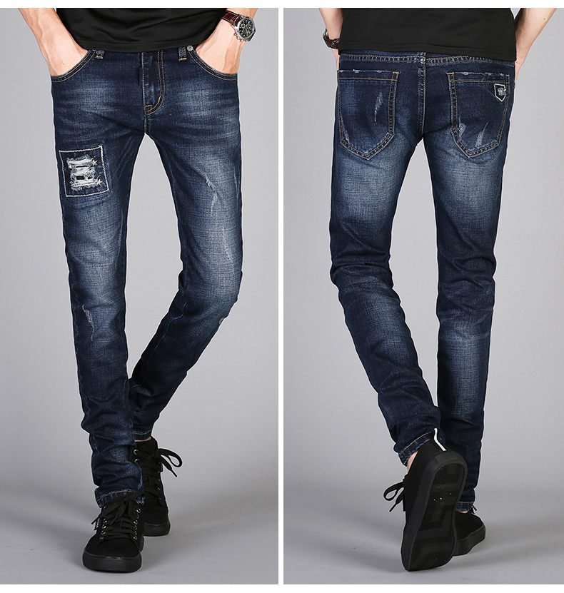 KSTUN Mens Jeans Famous Brand Blue Stretch Distressed Frayed Hiphop Streetwear 2019 Autumn RIpped Jeans Man Casaul Pants Homme 12