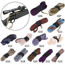 Pistolet myśliwski czysty otwór węża 20GA .35 Cal 410GA 6mm 16GA .50 Cal karabin pistolet Cleaner karabin lufa wąż liny pistolet urządzenia do oczyszczania