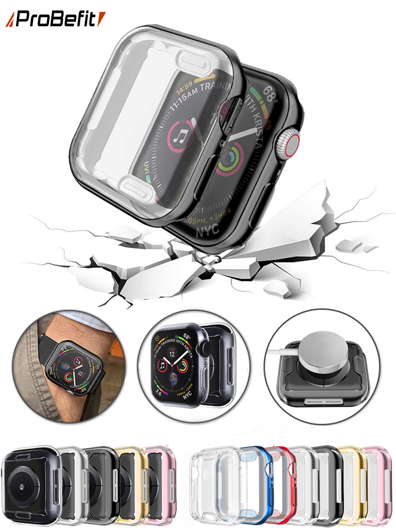 Watch-Cover Case Screen-Protector 40MM 42MM 44MM 38MM 360 Slim for Apple 6-se/5/4/..
