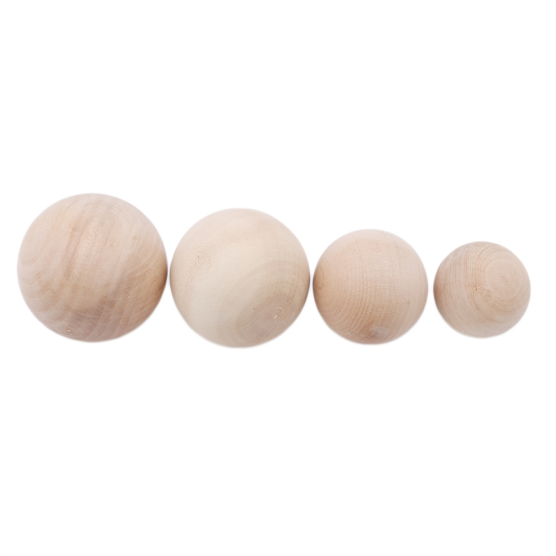 Exercise Wooden Ball High Quality Durable DIY Painted Exercise Wooden Ball 5cm 6cm 7cm 8cm Handwork Wooden Ball Cheap Price New