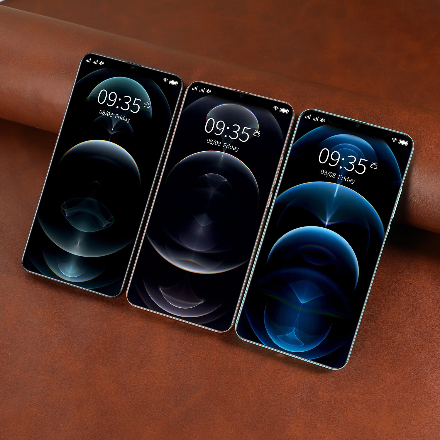 6.7inch i12 Pro Max 12 GB 512 GB 24MP+48MP 5g Cellphones Smartphones Android 10 5800mAh 10 Core Really Telephone MTK6889 Face ID 5
