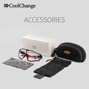 Image 5 - CoolChange Photochromic רכיבה על אופניים משקפיים ריצה חיצוני ספורט MTB אופני משקפי שמש UV400 גברים נשים כביש אופניים משקפי Eyewear