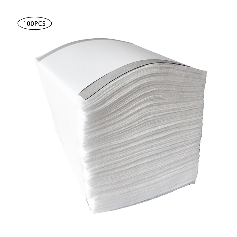 100pcs/pack 10x10cm Non-woven Sheet Mask Gasket Filter Face Activated Filter Suitable For Mouth Mask Gasket Filters Pad