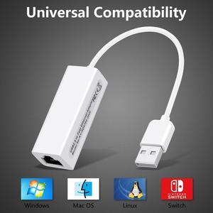 Image 2 - Externe USB Verdrahtete Ethernet Netzwerk Karte Adapter USB zu Ethernet RJ45 Lan für Windows 7/8/10/XP RD9700 Für Win XP/7/8/10