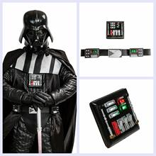 Coslive star wars Darth Vader Belt Con La Luce del LED Piatto Petto Versione Aggiornata Puntelli Cosplay Costume Accessori(China)