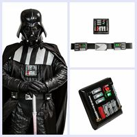 Coslive Star wars Darth Vader Belt With LED Light Chest Plate Updated Version Cosplay Props Costume Accessories