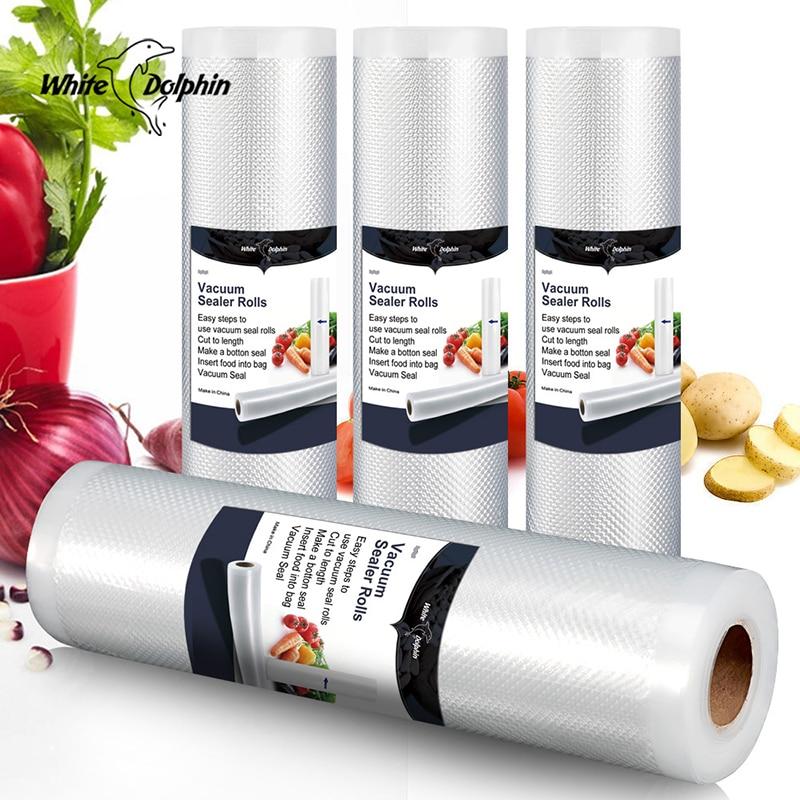 Kitchen Food Sealer Vacuum Bag Storage Bag For Vacuum Sealer Food Fresh Long Keeping  12 15 20 25 CmX500cm Vacuum Sealer Bag