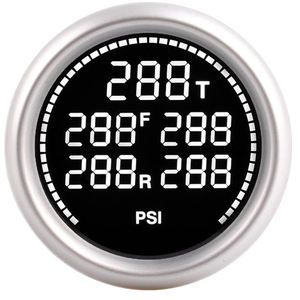 Image 5 - 車の空気サスペンションゲージ 7 色 20Bar 290PSI空気圧ブーストエアゲージと 5 個 1/8NPT電気センサレース