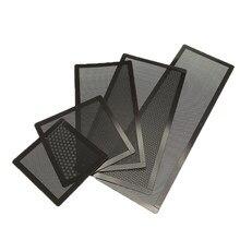 12*12cm/14*14cm pc chassi refrigerando filtro de poeira magnético pvc protetor líquido ventilador capa poeira filtro anti poeira líquido 12*24cm/14*28cm/12*36cm