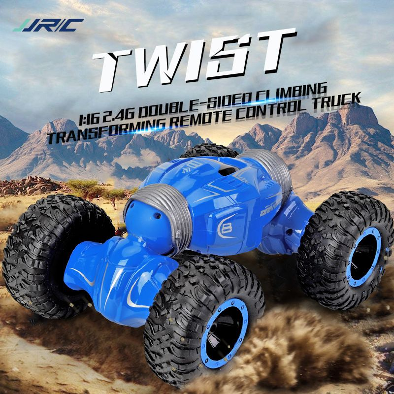 JJRC Q70 1:16 2.4GHz 4WD Desert Off Road High Speed Climbing Radio Control RC Car Remote Control Vehicle Model w/ 3 Batteries
